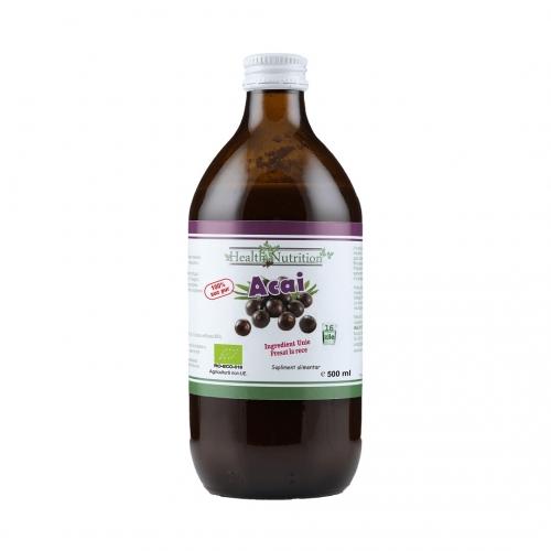 Acai Pur Bio 500 ml - Health Nutrition