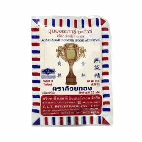 Agar Agar pulbere 25g, Gold Cup