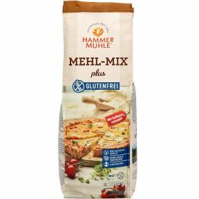 Amestec de faina fara gluten plus, ECO, 1 Kg, Hammer Muhle