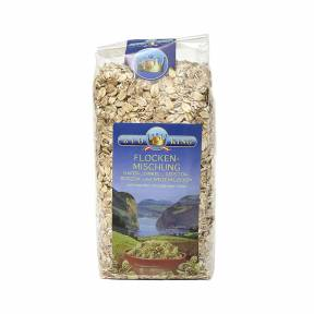 Amestec de fulgi de cereale ECO 500 g, Bioking