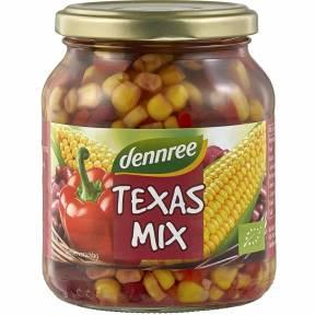 Amestec de legume Texas, ECO, 350g, Dennree