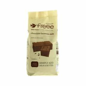 Amestec fara gluten pentru prajitura brownie cu ciocolata 350 g, Doves Farm