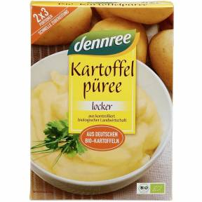 Amestec pentru piure de cartofi, ECO, 160 g (2 x 80 g), , Dennree