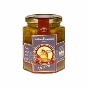 Apitotal Royal (miere cu polen, propolis, laptisor de matca) 360 g, Albina Carpatina