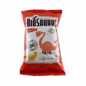 BABE - Pufuleti dinozauri cu ketchup ECO 50g, BioSaurus