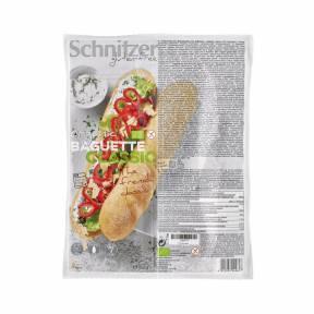 Bagheta Clasic fara gluten cu faina de porumb si de orez ECO 360 g (2 x 180 g), Schnitzer