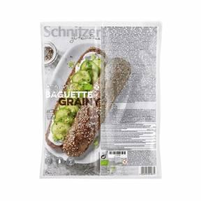 Bagheta Grainy fara gluten cu seminte oleaginoase 320 g (2 x 160 g), Schnitzer