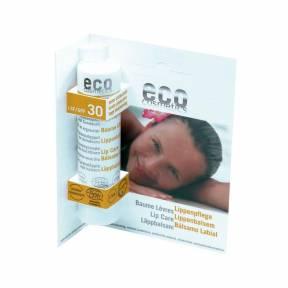 Balsam de buze cu protectie solara SPF 30 - 4 g, Eco Cosmetics