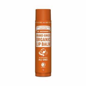Balsam de buze organic Portocala si Ghimbir 4 grame, Dr. Bronner's