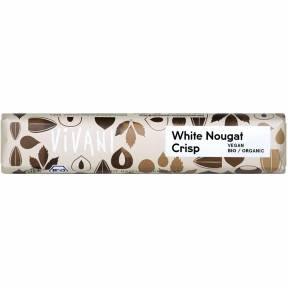 """Baton """"White nougat crisp"""" ECO 35 g, Vivani"""