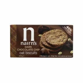 Biscuiti de ovaz cu cacao si fulgi de ciocolata 200 g, Nairn's