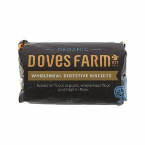 Biscuiti din grau integral bogati in fibre ECO 200g, Doves Farm
