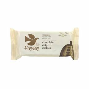 Biscuiti fara gluten cu fulgi de ciocolata ECO 180 g, Doves Farm