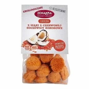 Biscuti din faina de linte rosie, cu cocos, fara gluten, ECO, 100 g, Zemanka