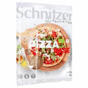 Blat de pizza fara gluten ECO 1 buc (100 g), Schnitzer