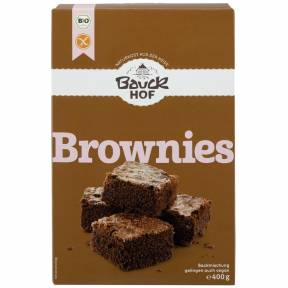 Brownies – premix fara gluten pentru negrese BIO 400 g, Bauck Hof