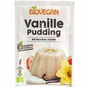 Budinca cu vanilie Bourbon ECO 33 g, BioVegan