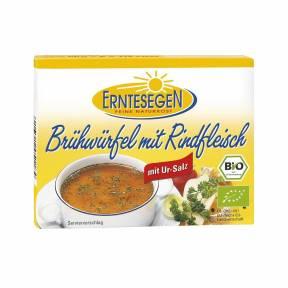 Bulion cuburi cu carne de vaca ECO 72 g, Erntesegen