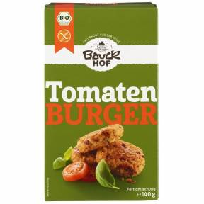 Burger fara gluten cu rosii si busuioc ECO 140 g, Bauck Hof
