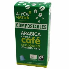 Cafea Arabica, 10 capsule compatibile Nespresso, ECO, 50 g,