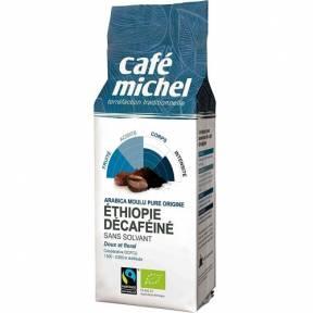 Cafea Arabica decofeinizata Etiopia, Fair Trade, macinata, ECO, 250 g, Cafe Michel