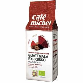 Cafea Arabica Expresso Guatemala Fair Trade macinata, ECO, 250 g, Cafe Michel