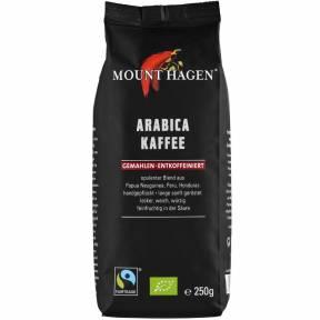 Cafea Arabica macinata, decofeinizata, ECO 250 g, Mount Hagen