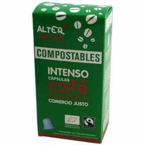 Cafea Intenso, 10 capsule compatibile Nespresso, ECO, 50 g,