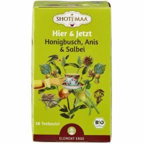 Ceai ayurvedic cu honeybush, anason si salvie ECO 32 g (16 pliculete x 2 g), Shoti Maa