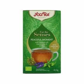 Ceai Bucurie pura - Pentru simturi ECO 44 g (20 pliculete), Yogi Tea
