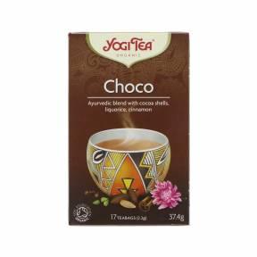 Ceai Choco - cacao , lemn dulce si scortisoara ECO 30,6 g (17 pliculete), Yogi Tea