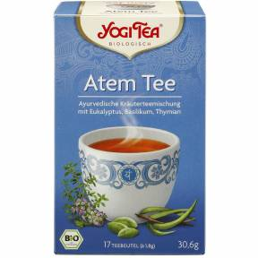 Ceai cu eucalipt, busuioc si cimbru (Respira adanc) ECO 30.6 g (17 pliculete), Yogi Tea