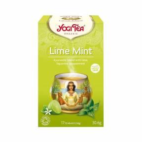 Ceai cu lamaie verde si menta ECO 30.6 g (17 pliculete), Yogi Tea