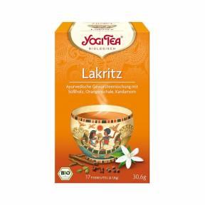 Ceai de Lemn dulce (Lakritz) ECO 17 pliculete (30,6 g), Yogi Tea