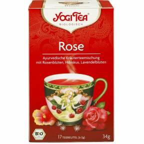 Ceai de trandafir ECO 17 pliculete (34 g), Yogi Tea