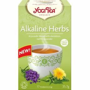 Ceai din Plante Alcaline, ECO, 35.7 g (17x2.1g), Yogi Tea