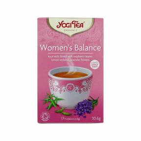 Ceai Echilibrul femeilor, ECO, 30.6 g (17x1.8 g), Yogi Tea