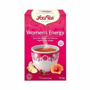 Ceai Energie pentru femei ECO 30,6 g (17 pliculete x 1.8 g), Yogi Tea