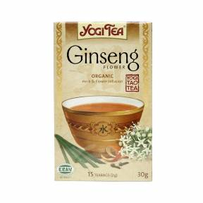 Ceai Floare de ginseng ECO 30,6 g (17 pliculete x 1.8 g), Yogi Tea