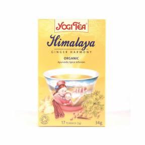 Ceai Himalaya cu ghimbir, fenicul si scortisoara ECO 34 g (17 pliculete x 2 g), Yogi Tea