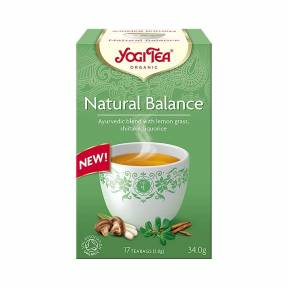 Ceai Natural Balance, ECO, 34 g (17 x 2.0 g), Yogi Tea
