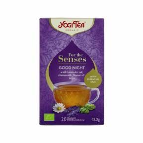 Ceai Noapte buna - Pentru simturi ECO 42 g (20 pliculete), Yogi Tea