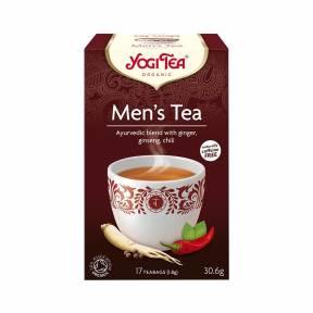 Ceai pentru barbati cu ghimbir, ginseng si ardei iute ECO 30,6 g (17 pliculete), Yogi Tea
