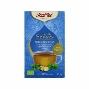 Ceai Prospetime pura - Pentru simturi ECO 40 g (20 pliculete), Yogi Tea