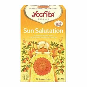 Ceai Salutul Soarelui, ECO, 34 g (17 x 2.0 g), Yogi Tea
