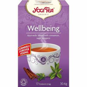 Ceai Stare de Bine (Wellbeing), ECO, 30.6 g (17x1.8 g), Yogi Tea