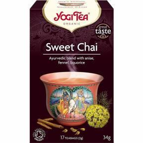 Ceai Sweet Chai (ceai dulce), ECO, 34 g (17 x 2.0 g), Yogi Tea