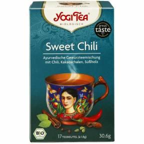 Ceai Sweet chili ECO 30,6 g (17 pliculete x 1.8 g), Yogi Tea