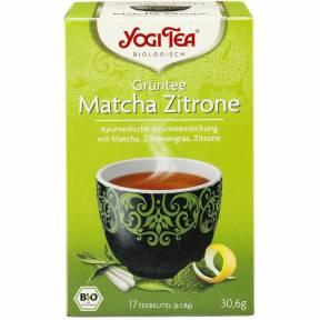 Ceai verde Matcha si Lamaie ECO (17 plicuri x 1.8 g) 30.6 g, Yogi Tea