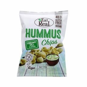 Chipsuri cu marar pentru humus 135g, Eat Real